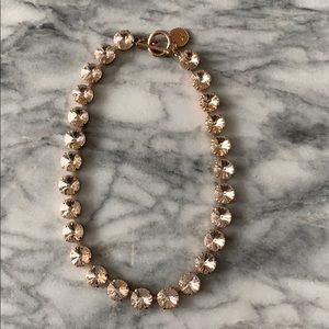 Rebekah Price Rivoli Necklace - Rose Gold